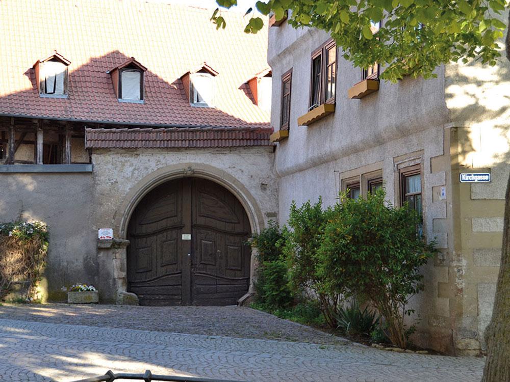 Pfarrhof-Kirchgasse