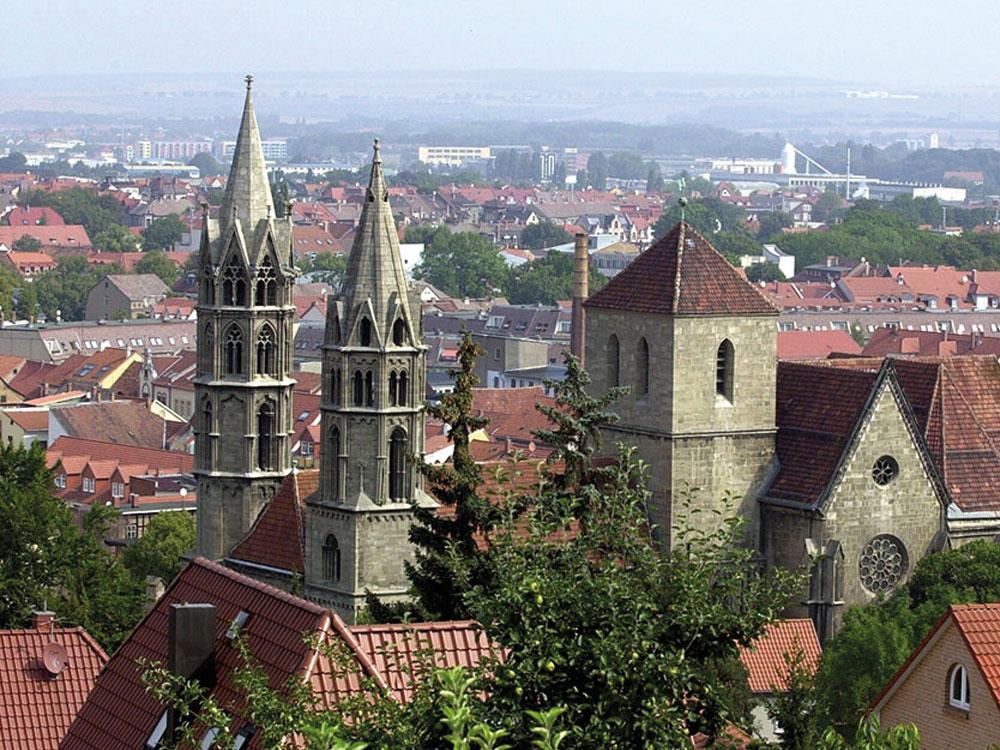 Stadtansicht Arnstadt